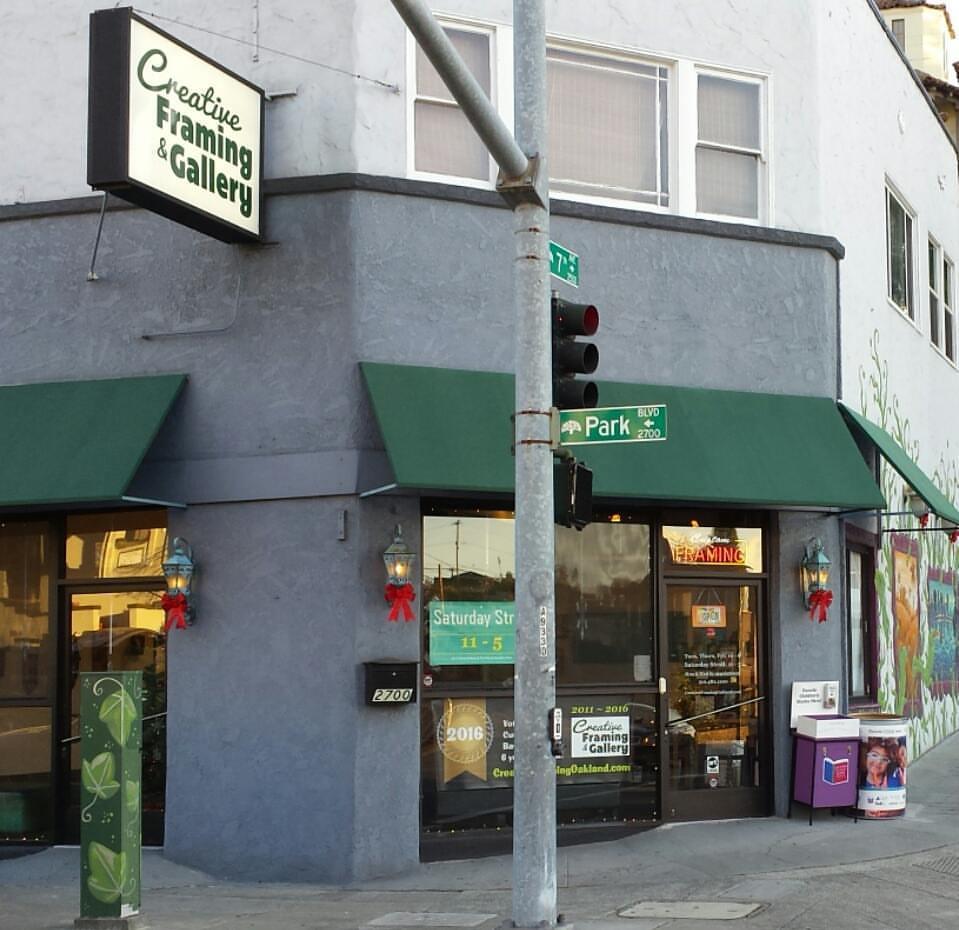 Creative Framing & Gallery, Oakland, California, USA